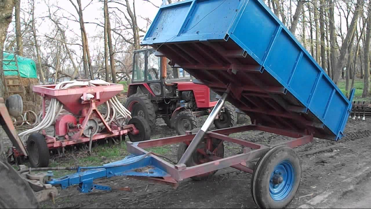 Прицеп своими руками для тракторов
