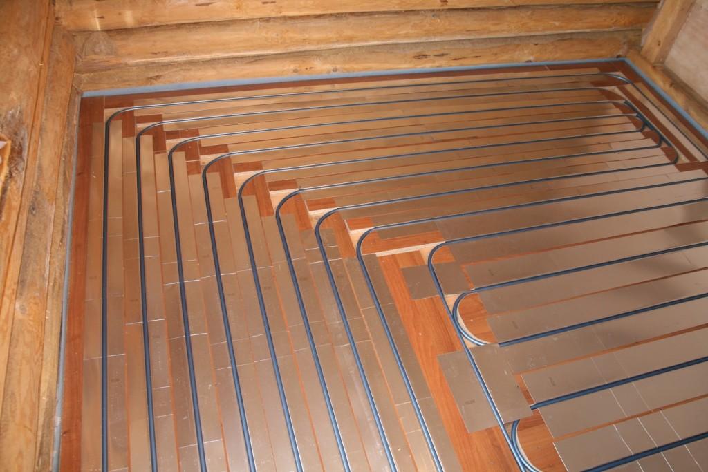 деревянный теплый пол водяной своими руками