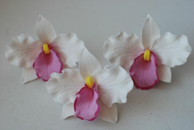 Цветы из глины мастер-класс