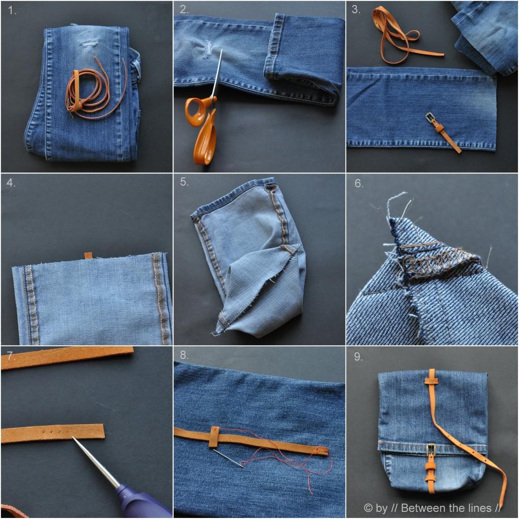 Джинсовая жилетка своими руками из старых джинс пошагово