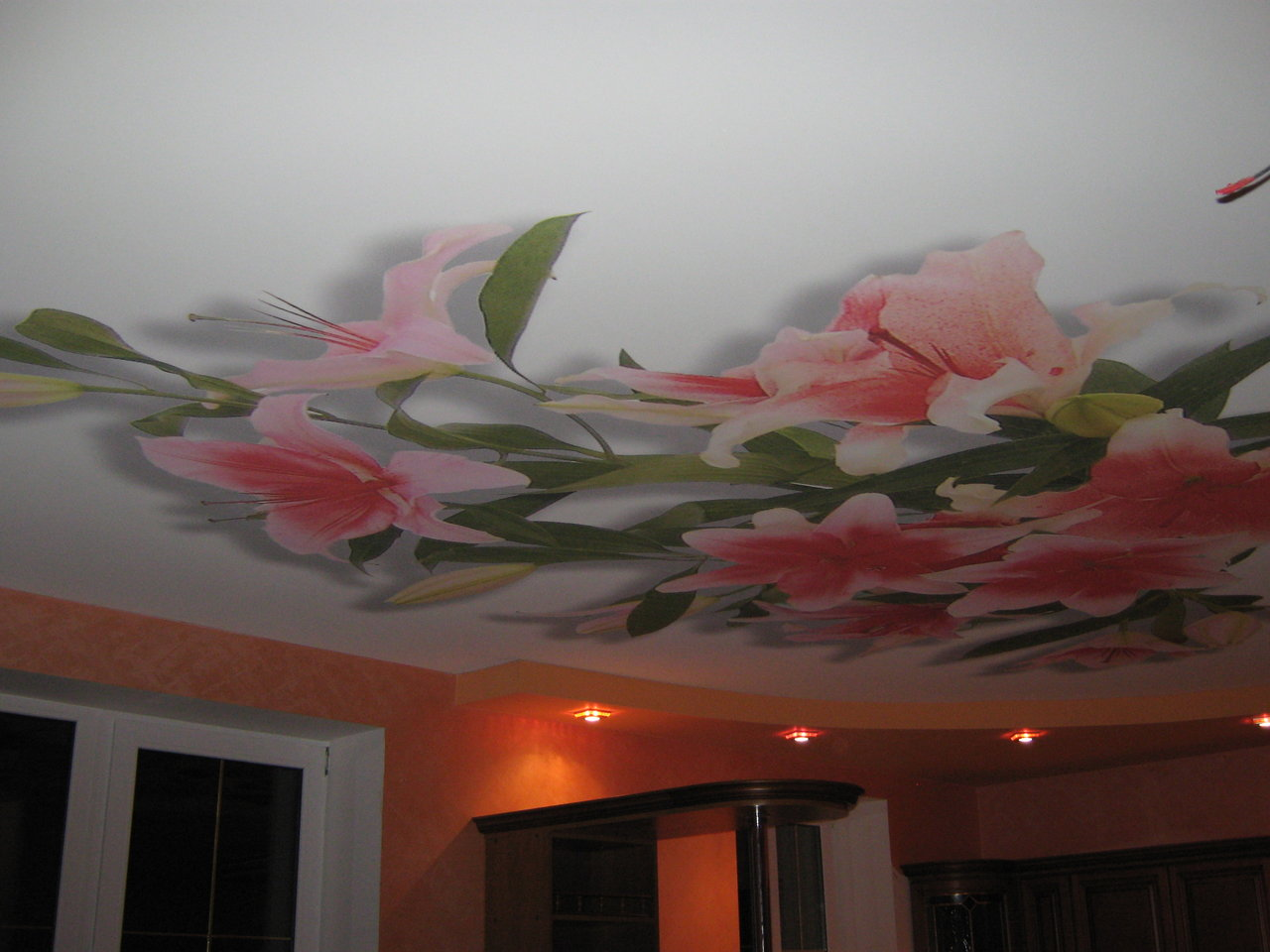 Потолок красивый своими руками 24